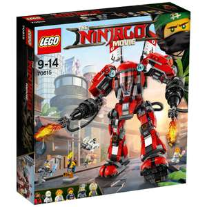Lego Ninjago Movie - Fire Mech 70615 - £14.95 (was £59.99) at Tesco Instore