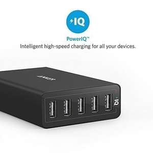 Anker USB Charger PowerPort 5 (40W 5-Port USB Charging Hub) Multi-Port Wall Charger £13.20 prime / £17.19 non prime Sold by AnkerDirect and Fulfilled by Amazon - Lightning deal