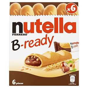 Nutella B-ready 6x22g - £1 with 50p voucher @ Amazon Pantry