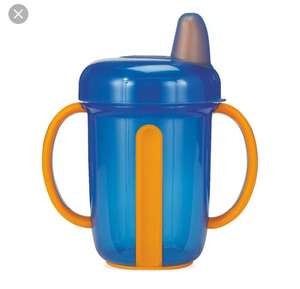 Mothercare non spill handled cup for 50p instore