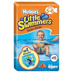 Huggies Little Swimmers swim nappies half price £2.65 in Waitrose