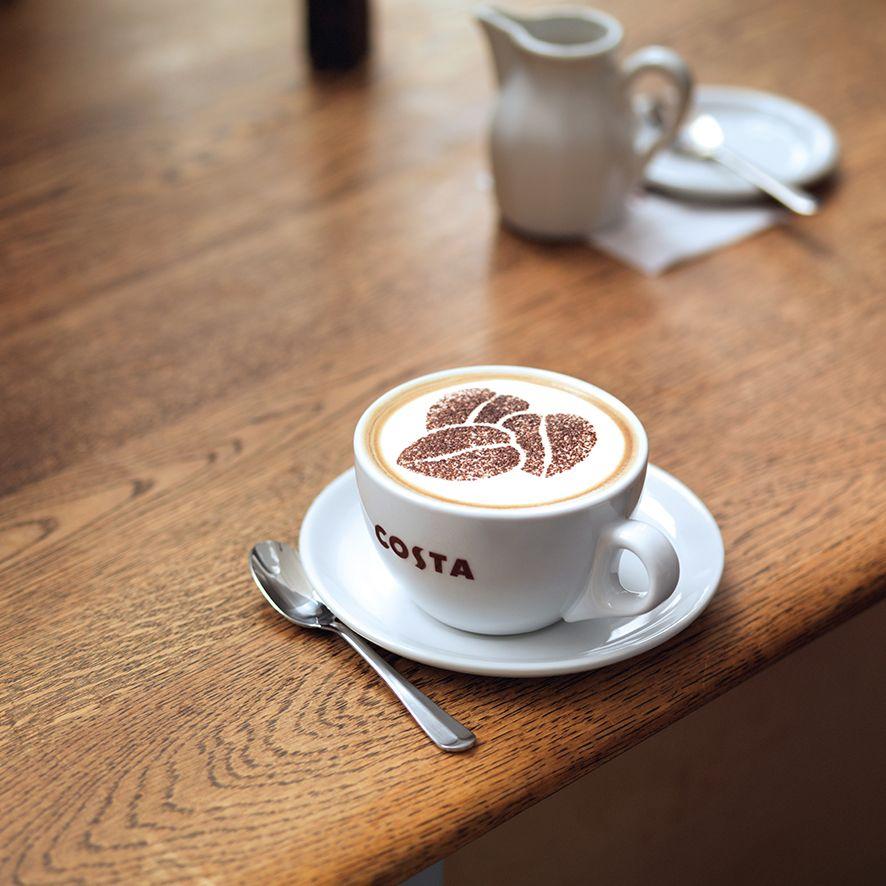 Free primo Costa coffee/tea @ Three / Wuntu