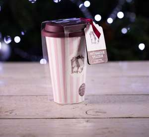 50p off any hot drink with reusable cup @ Patisserie Valerie