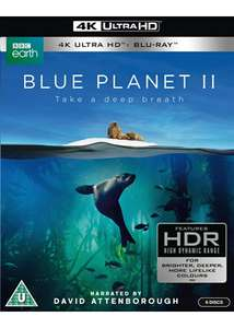 Blue Planet 2 4K UHD Blu-ray, £24.99 at base.com