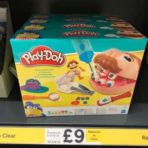 Play-doh Dr Drill n Fill £9 @ Tesco - Calne Superstore