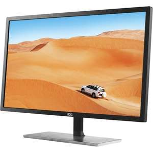 AOC Q3279VWF 31.5-Inch HDMI DVI Monitor - Black £188.53 - AMAZON