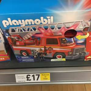 Playmobil Fire Engine 5682 - £17 @ Tesco - Crawley