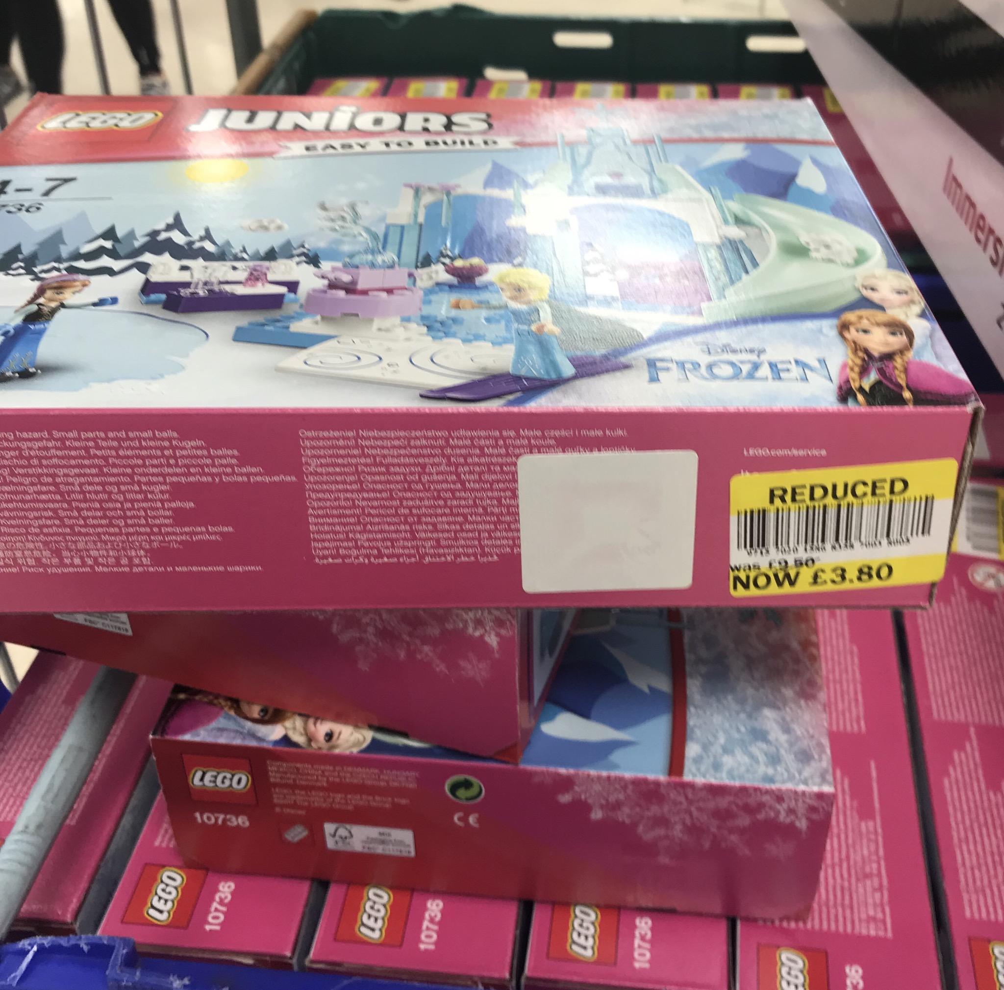 Disney Frozen Lego Juniors - £3.80 instore @ Tesco