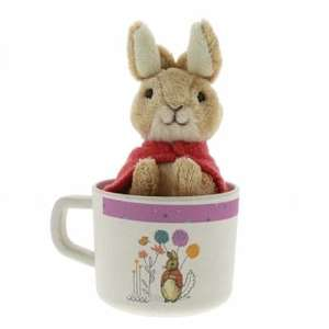 Beatrix Potter Flopsy Organic Mug & Soft Toy Gift Set £6.99 delivered @ The Internet Gift Store