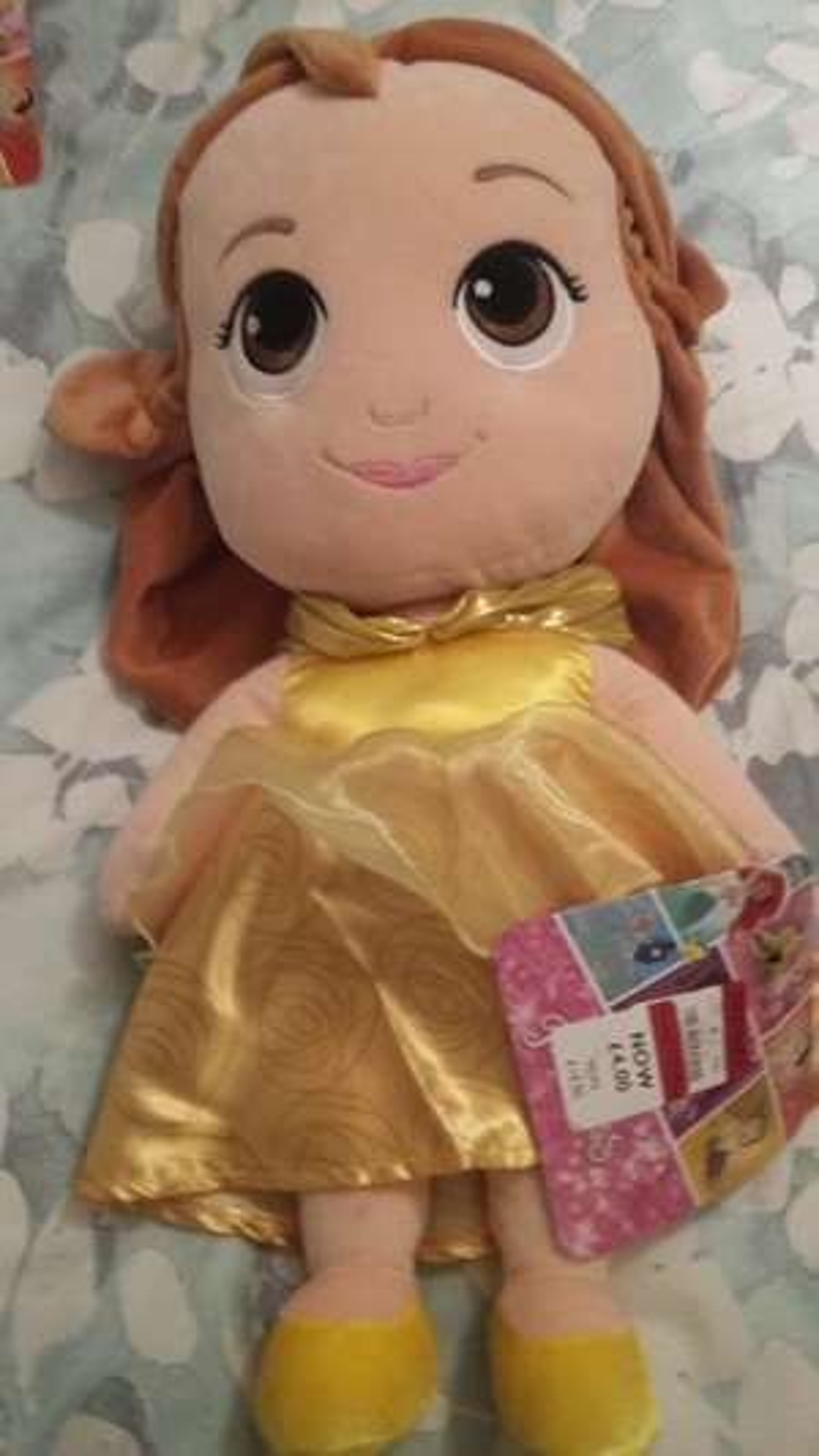 XL Soft Disney Princess Belle Doll Debenhams Livingston- for £4