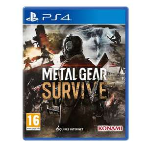 Metal Gear Survive [PS4/XO] £19.99 @ Smyths (C&C)