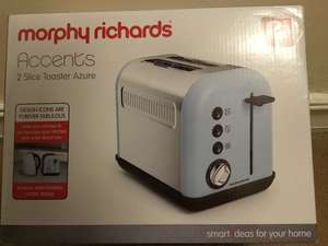 Morphy Richards 2 slice toaster £4 in Asda Widnes