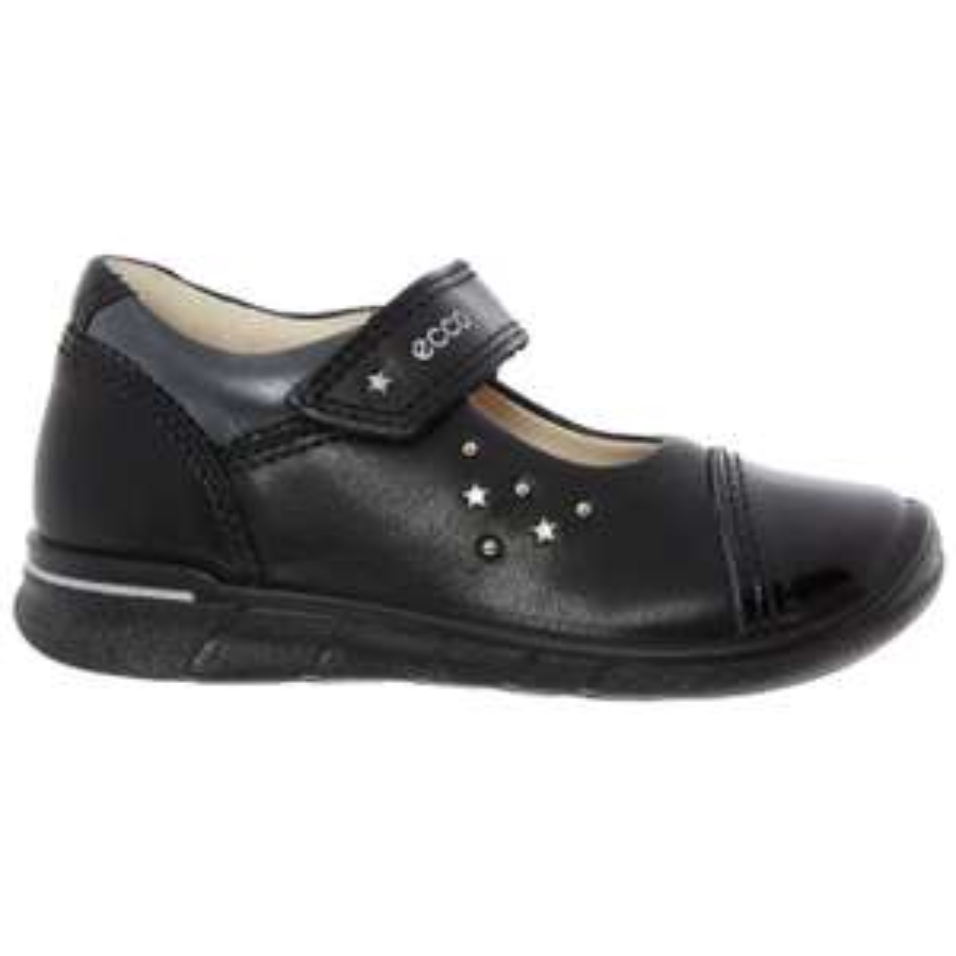 ECCO  Black Leather Star Motif Shoes £12.99 TK Maxx - £1.99 c&c