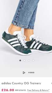 adidas Country OG Trainers - ASOS - £26 - Size 6 and 6.5 available.