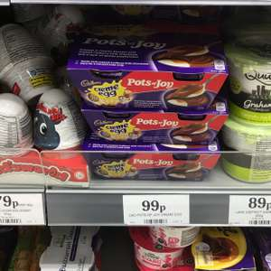 Cadbury creme egg pots of joy 4pk only 99p @ home bargains