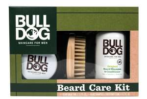Bulldog (skin care for men) Beard care kit reduced to £1.40@Tesco