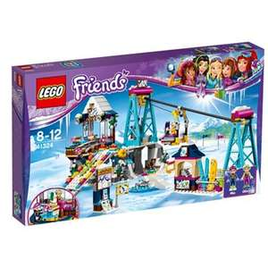 Lego friends, snow resort ski lift model 41324,was £55 now £38.50 @debenhams,free delivery with code