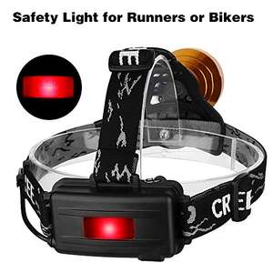 £17.98 Prime only for Headlight, USB rechargeable Head Torch Sold by Fvigorouk and Fulfilled by Amazon.