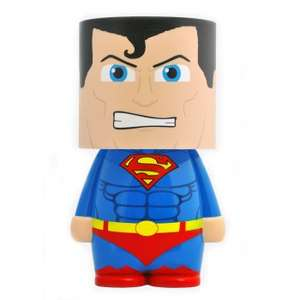 "Superman look a lite 12 "" mood light was £19.99 now £9.99 @ internet gift store,free delivery with code"
