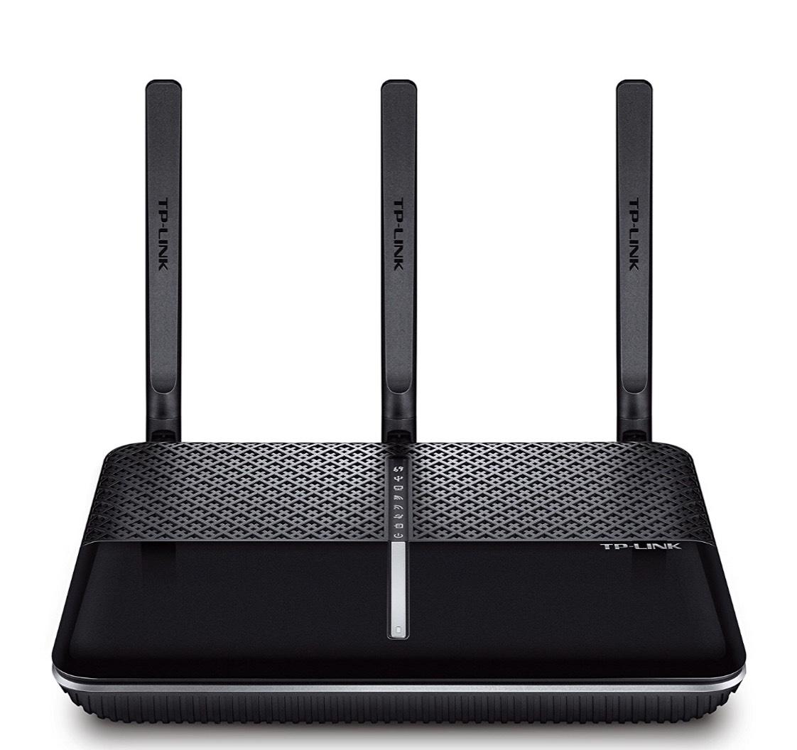 TP-Link AC1900 Wireless Dual Band Gigabit VDSL/ADSL Modem Router for Phone Line Connections (BT Infinity, TalkTalk, EE and PlusNet Fibre) 2 USB, 3.0 Ports, UK Plug (Archer VR900 V2)