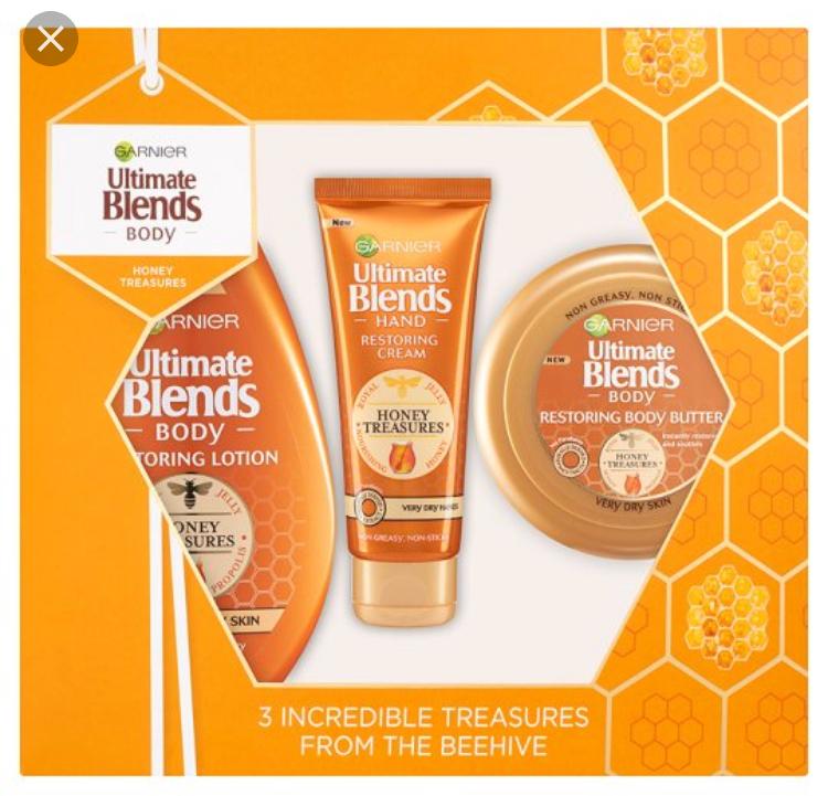 Garnier Ultimate Blends Honey Treasures Gift Set @ Tesco in store (Coventry) - £1.15
