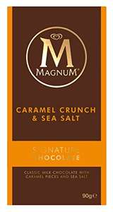 Magnum Caramel Crunch Bar, 90 g, Pack of 18 - £9.82 Prime (non-Prime £14.57) @ Amazon[