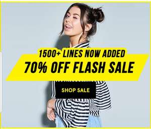 70% off flash sale @ LOTD. Some great bargains. £2.99 del