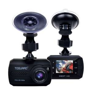 TOGUARD Mini Dash Cam Full HD 1080P Car Blackbox Car Dash Cams DVR Dashboard Camera Built In G-Sensor Motion Detection Loop Recorder Night Vision - £25.99 @ Sold by ToGuard Direct / Fulfilled by Amazon