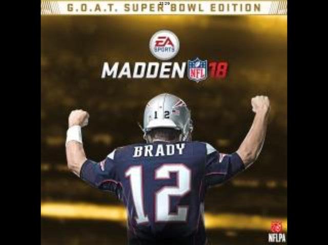 Madden NFL 18 G.O.A.T. Super Bowl Edition £12.39 @ US PSN