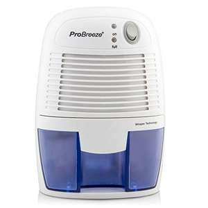 Pro Breeze 500ml Compact and Portable Mini Air Dehumidifier WAS £79.99 @ Amazon (sold by One Retail Group / FBA) - £28.49