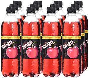 Tango Cherry bottle 600 ml (Pack of 12) at Amazon £4.76 - Prime Exclusive