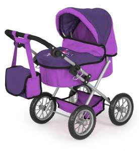 Trendy Bayer Design Doll Baby Pram lilac £18.75 (Prime) / £23.50 (non Prime) at Amazon