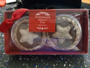 TESCO Hand Made Mince Pies 50p instore