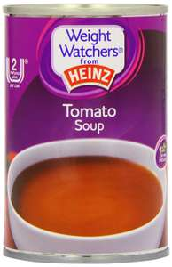 Heinz Weight Watchers Tomato Soup 295 g (Pack of 12) for £6 (Prime) / £14.75 (non Prime) at Amazon