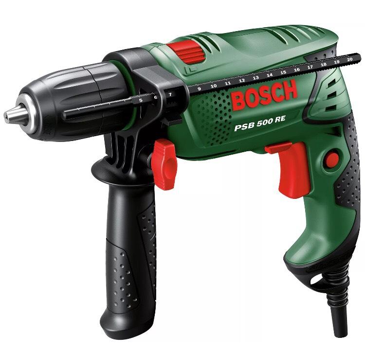 Bosch PSB500 Impact Hammer Drill - 500W. £29.99 Delivered @ Argos eBay