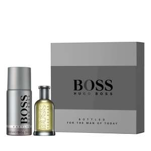 BOSS bottled 50ml gift set now £22 at Life&Looks.  Free delivery on £40 spend or £3 delivery