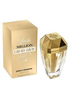 Paco Rabanne 50ml Lady Million Eau My Gold Eau de Toilette £20 @ Life & Looks - free delivery on £40 spend. Otherwise £3 shipping