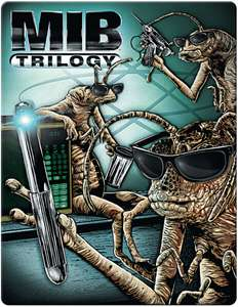Men In Black Trilogy: 4k Ultra HD (Includes 2D version) £39.99 Zavvi