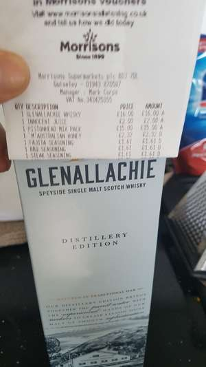 Glenallachie Single Malt Distillery edition instore £16 @ Morrisons Guiseley