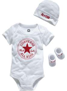 Converse 3 piece unisex white all stars gift set 0-6 months,was £19.99 NOW £8.99 @ Argos ,free c+c