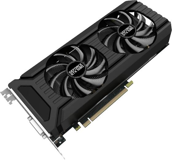 Palit GeForce® GTX 1080 Dual OC - £486.68 Novatech