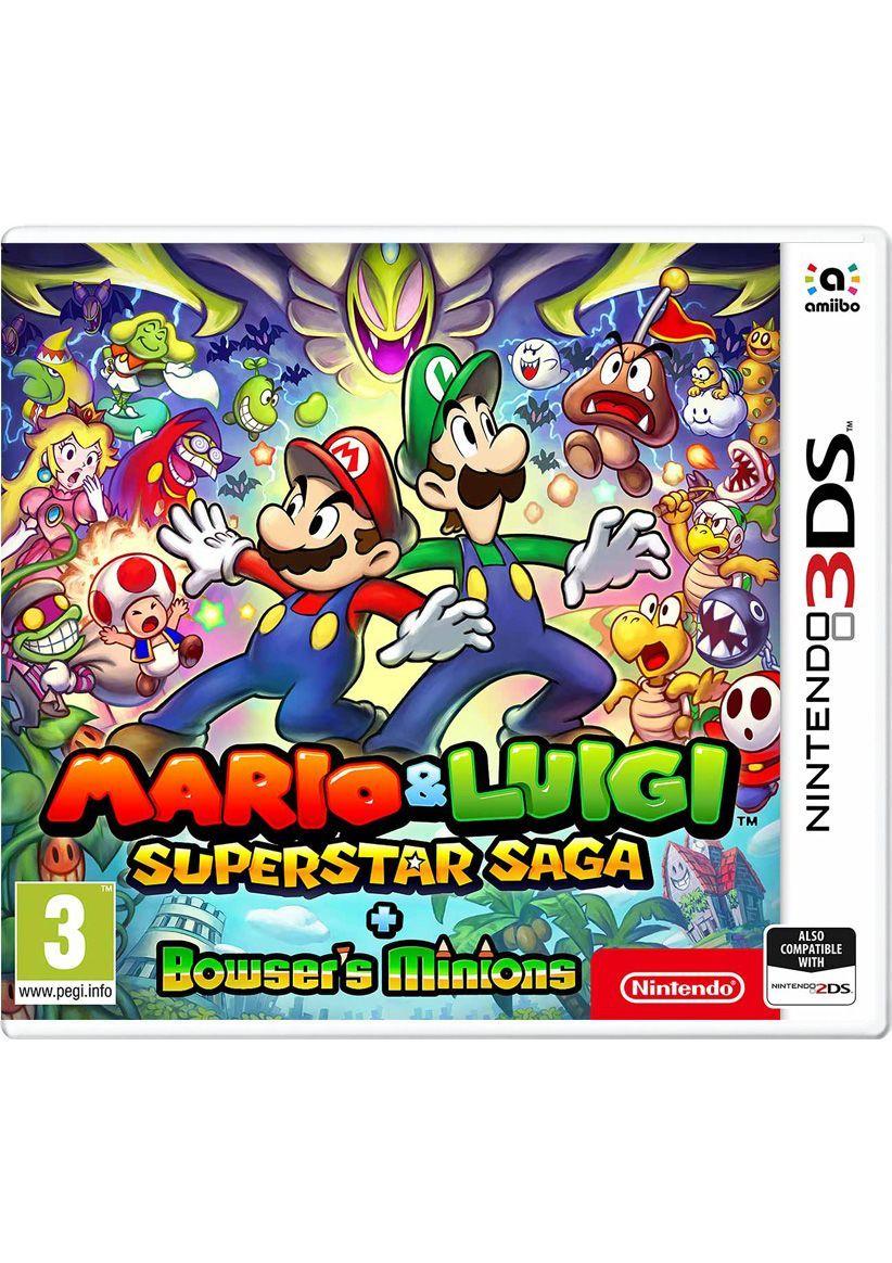 Mario & Luigi Super Star Saga + Bowsers Minions [3DS] £19.99 @ SimplyGames