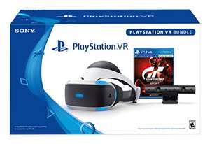 PlayStation VR - GT Sport Bundle £245.26 from Amazon.com