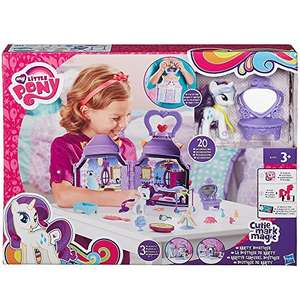 My little pony cutie mark magic rarity bootique playset £16.84 (Prime) / £21.59 (non Prime) at Amazon
