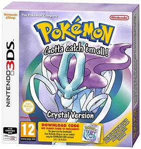 Pokemon Crystal Nintendo 3DS  Packaged Download Code £5.99 (Prime) / £9.98 (non Prime) at Amazon