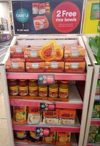 Get 2 free rice bowls when you buy any 3 Uncle Bens Products e.g. e.g. Uncle Bens Medium Chilli Sauce 675g 3 x £1.20 @ Iceland Instore