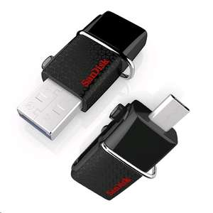 SanDisk Ultra 128GB USB Dual Drive USB 3.0 Up to 150MB/s Read (SDDD2-128G-GAM46) £24.97 @ Amazon.co.uk (Prime exclusive)