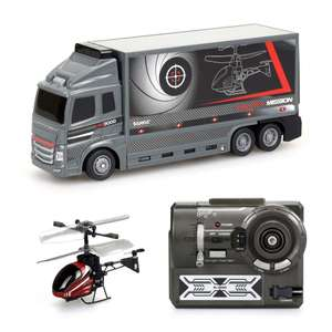 Silverlit Heli truck mission remote control helicopter and truck now £9.99 delivered @ eBay sold by Argos clearance
