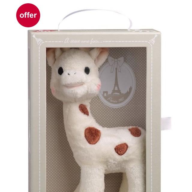 Sophie la giraffe Cherie soft Toy £10.99 @ Boots