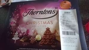 Thorntons Christmas selection 457g at Tesco - Basingstoke  for £2.50
